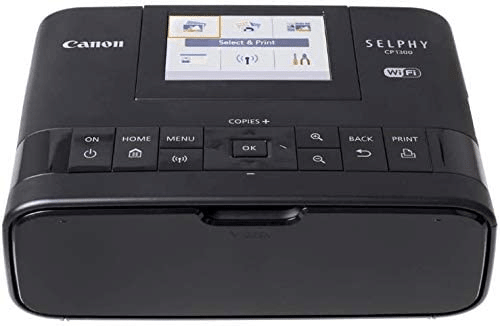 Canon Selphy CP1300 Best Refillable Sublimation Printer Wireless Compact Photo Printer