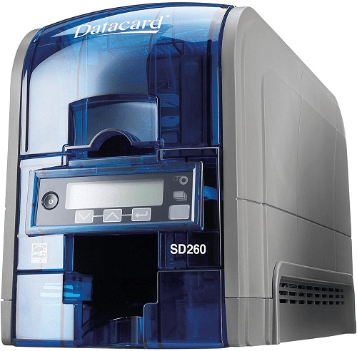 Datacard Group SD260 Dye Sublimation Thermal Transfer Printer