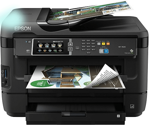 Epson WorkForce WF-7610 Wireless Color Best Wide Format Commercial Sublimation Printer